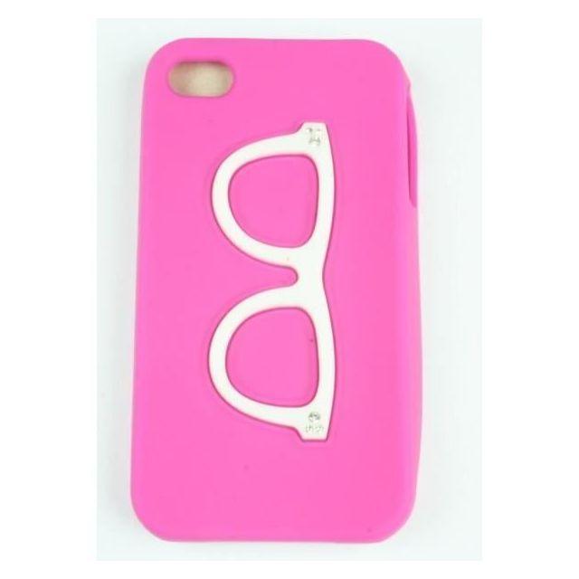 coque iphone 4 rose fushia