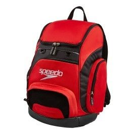 457a72e823f412 Speedo - Sac à dos de natation Teamster Backpack 35 rouge noir - pas cher  Achat   Vente Sacs de piscine - RueDuCommerce