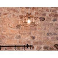 Beliani - Lampe - Lampe de plafond - Métal - Cuivre - Wabash