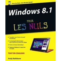 First Interactive - formation livre + dvd ; windows 8.1 pour les nuls