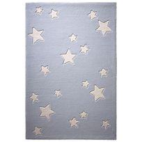 Belly Button - Tapis Ciel Etoiles Gris par chambre enfant garçon ou fille - Couleur - Gris, Taille - 60 x 100 cm