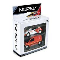 Norev - Pack 2 Voitures Racing - Emergency