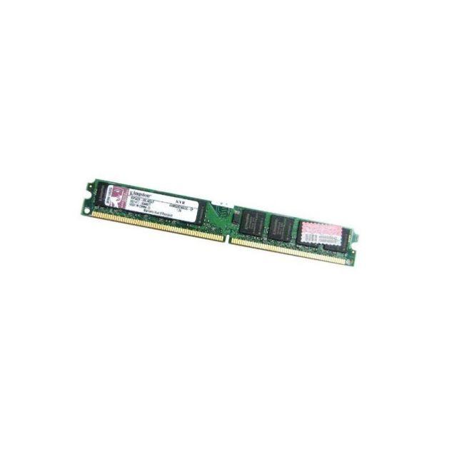 Kingston Ram Barrette Mémoire 2Go Ddr2 Pc-6400 800Mhz Kvr800D2N6/2G