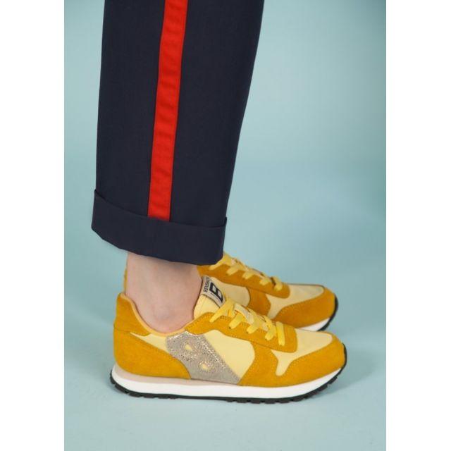nouveau design personnalisé grande remise BENSIMON - Running en jaune mimosa - pas cher Achat / Vente ...
