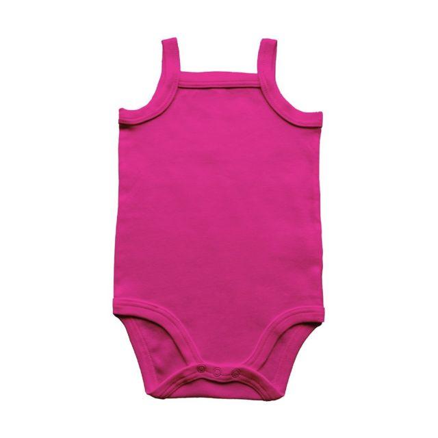 Babybugz - body bébé à bretelles - Bz28 - rose-fuchsia - pas cher ... 58e0a15cac4