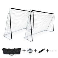 a9977bcb129d1 ALICE S GARDEN - Lot de 2 cages de football Eden taille L en acier 300 x