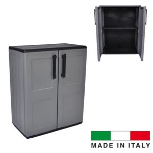ego design armoire int rieur exterieur made in italie gris pas cher achat vente coffre de. Black Bedroom Furniture Sets. Home Design Ideas