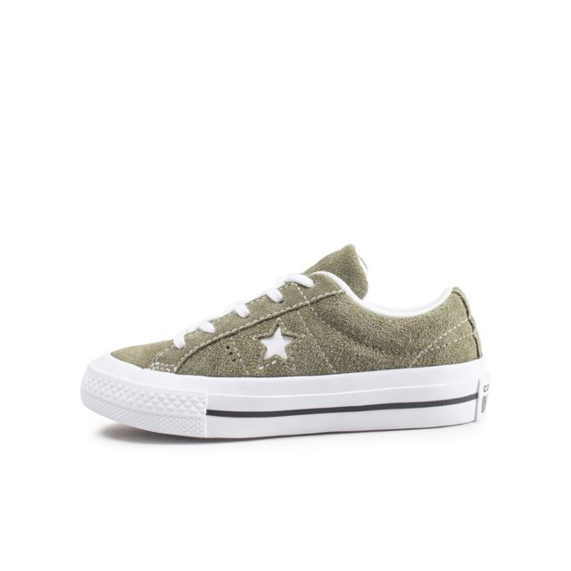 Converse One Star Vintage OX Suede kaki
