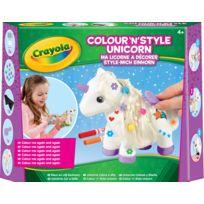 CRAYOLA - La licorne à décorer