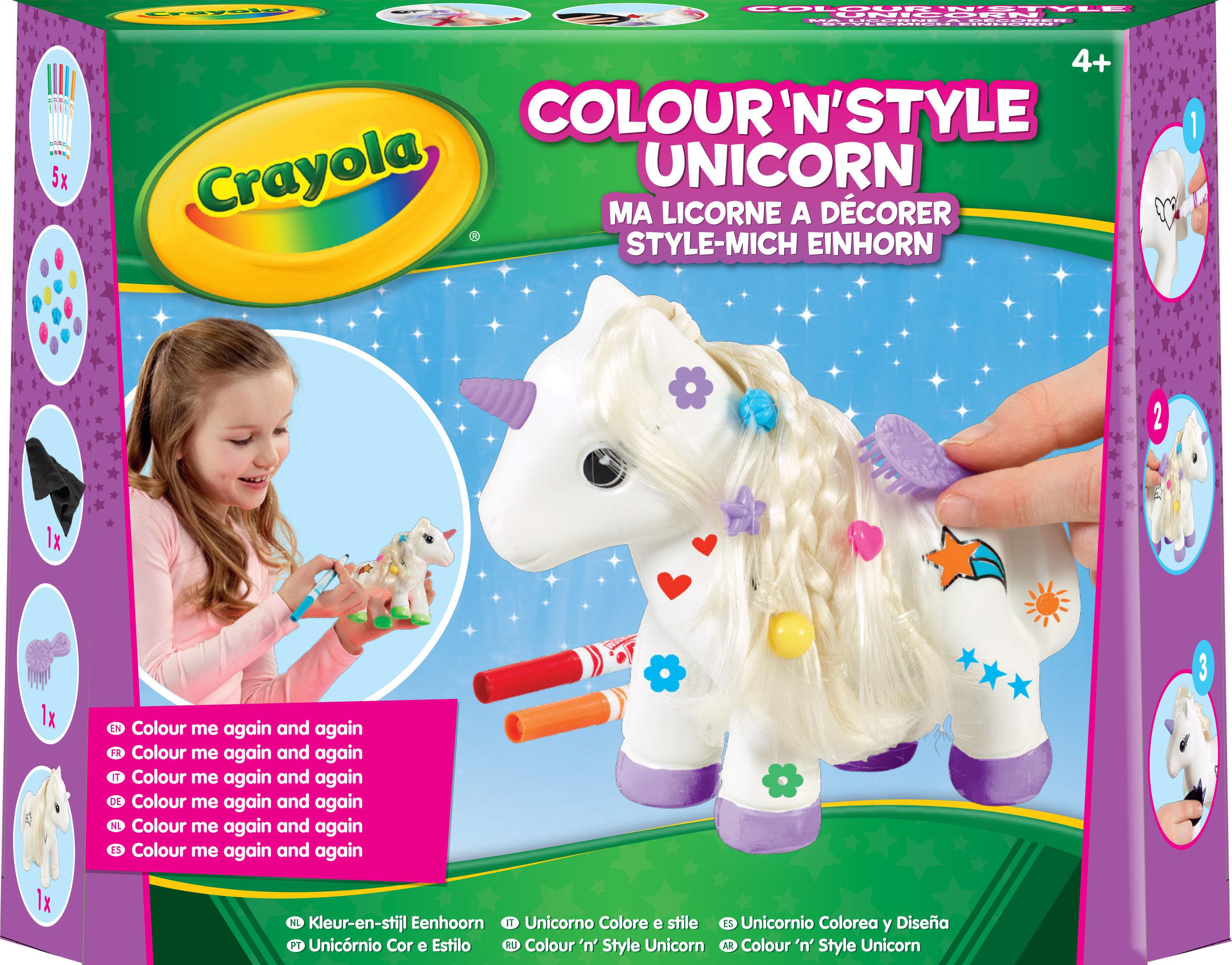 La licorne à décorer
