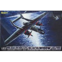 Great Wall Hobby - 1:48 - Wwii Usaaf Northrop P-61A Black Widow 'LAST Shoot Down' GWH4810