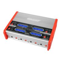 Team Corally - Eclips 4400 Quad Charger, AC/DC, 400W, Lcd Screen, 4X, 1-6 Li-Xx, 1-15 Ni-Xx