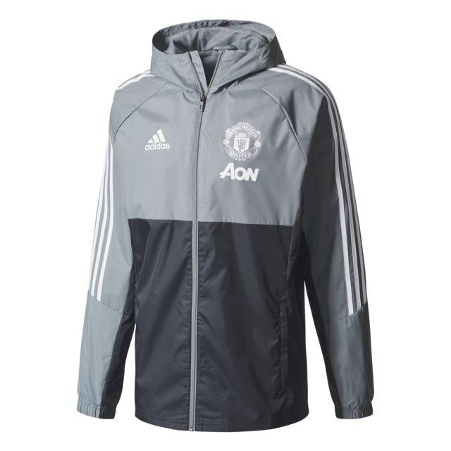 Pas Adidas 20172018 United À Capuche Veste Training Manchester Riqazn6z OCEFqwv4