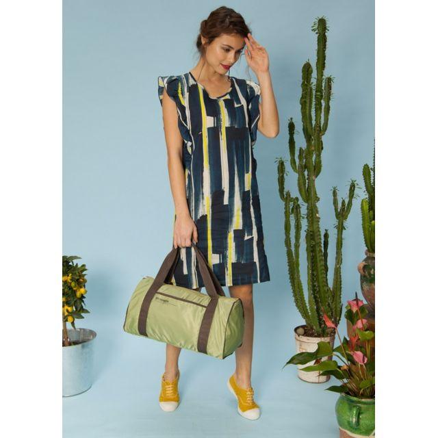 BENSIMON Sac de voyage Color Bag jaune Idéal pour un sac week-end ou un sac de sport !