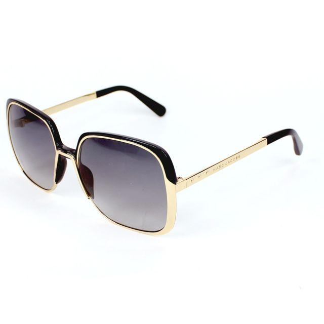 Marc Jacobs - Mj-622-S Ksu VK Or - Noir - Lunettes de soleil - pas cher  Achat   Vente Lunettes Tendance - RueDuCommerce 01d4a65b8a9b