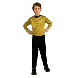 rubies kit blister capitaine kirk star trek movie jaune enfant pas cher achat vente. Black Bedroom Furniture Sets. Home Design Ideas