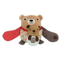 Daddou~ei - Skip Hop Hug & Hyde Stroller Toy Bear Tysh307513 JAPAN Import