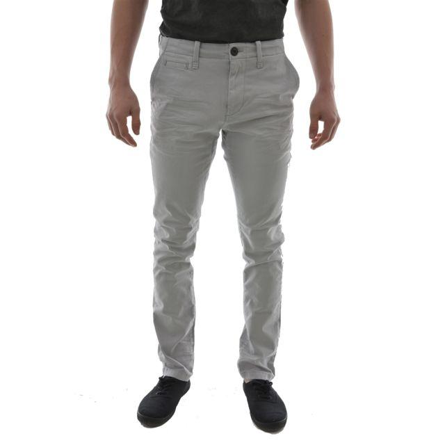 Petrol industries - pantalons tro568 trouser gris 33 32 - pas cher Achat    Vente Pantalon homme - RueDuCommerce 0c361f62066