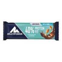 MultiPower - Barre 40% Protein Fit 30 gr chocolat amandes 1 unité
