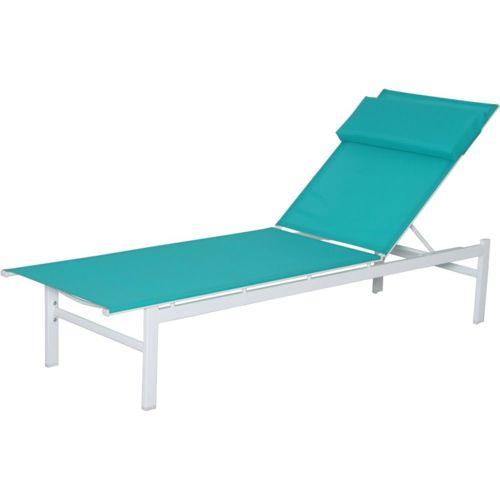 carrefour bain de soleil plat vitamine acier et textil ne turquoise pas cher achat. Black Bedroom Furniture Sets. Home Design Ideas