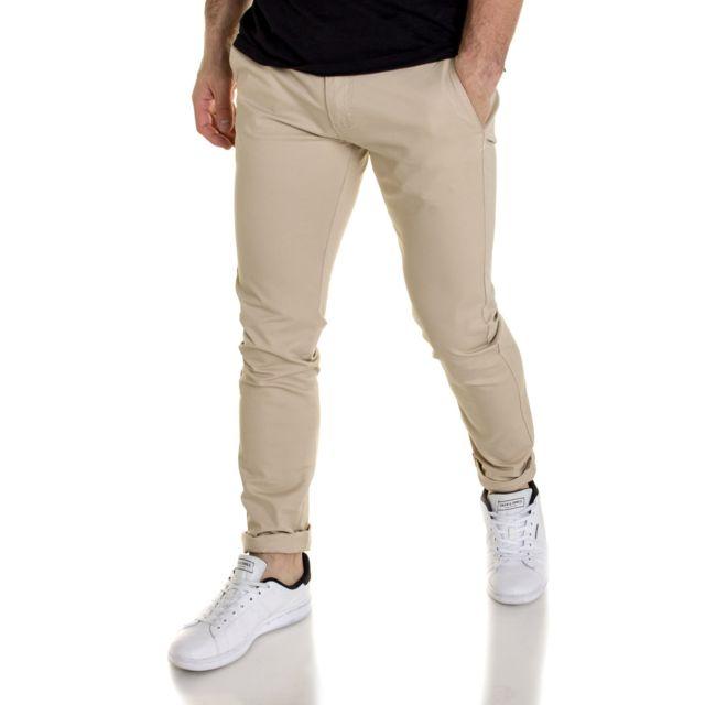 à vendre sur des pieds à Couleurs variées BLZ Jeans - Pantalon chino homme beige - pas cher Achat ...