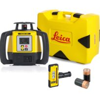 LEICA - LASER Rugby 680 avec coffret version pile et cellule de réception Rod Eye 140- 6006007