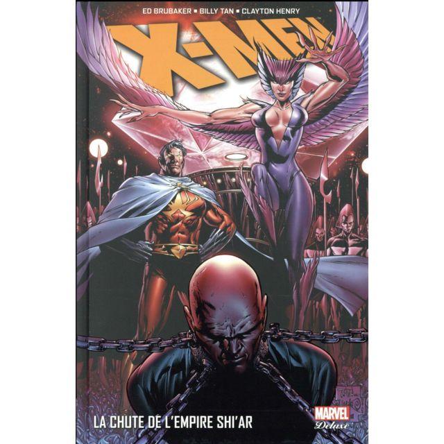Panini X-men ; la chute de l'empire Shi'ar Vulcain, le troisième frère Summers, cherche à se venger et sa fureur se dirige contre l'Empire Shi'ar.Un petit groupe de X-men mené par Havok et Polaris part à sa poursuite.Les batailles à venir vont faire tremb