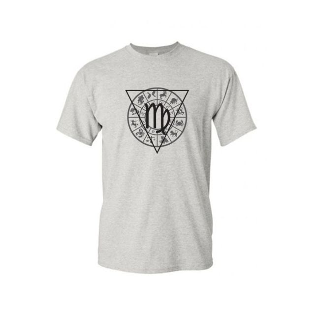 Mygoodprice - T-shirt col rond signe astrologique