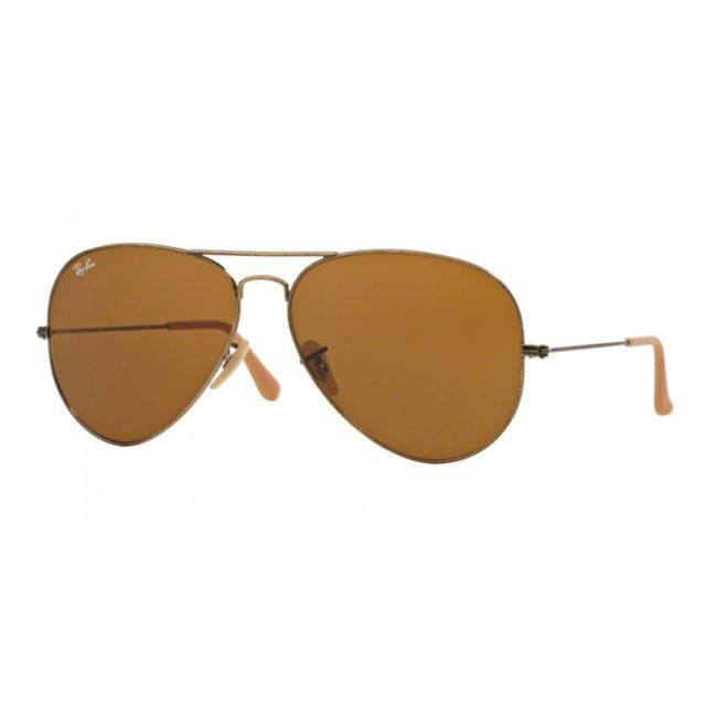 Ray-Ban - Ray Ban Rb 3025 177 33 - Lunettes de soleil mixte Or - pas ... 56b268aa34c0