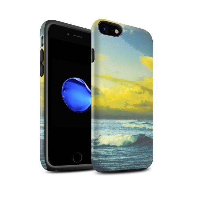 coque iphone 8 vague