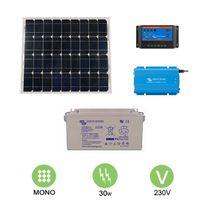 Victron - Kit solaire autonome 30w - 230v monocristallin