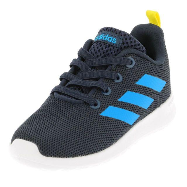 promo code b29ba 744d9 Adidas - Chaussures running mode Lite racer bleu jr Bleu 48211 - pas cher  Achat  Vente Baskets enfant - RueDuCommerce
