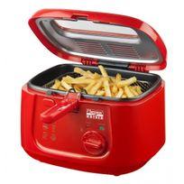Bestron - Friteuse avec filtre anti-odeur - Capacité 2,5L 1800W - Design rouge