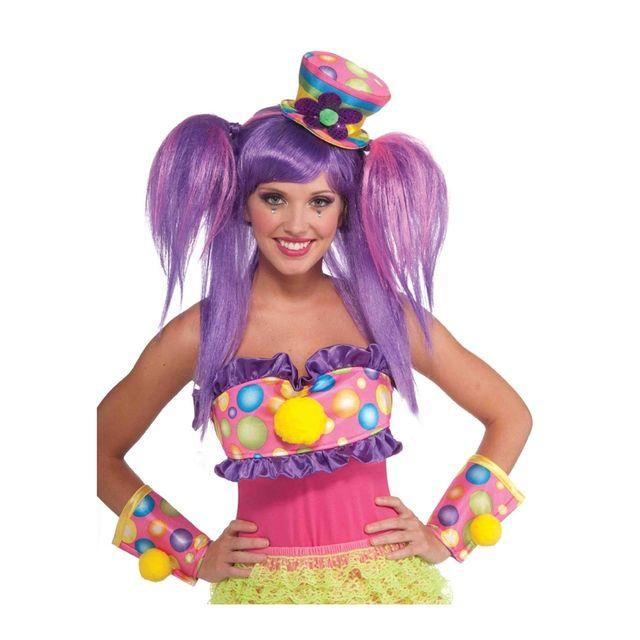 Mini chapeau haut de forme de clown Multicolore - pas cher Achat ... ab29685db44