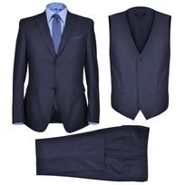 Rocambolesk - Superbe Smoking 3 pièces pour homme bleu marine taille 54 neuf
