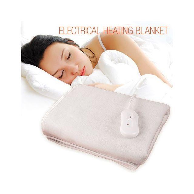 marque generique couverture chauffante pour lit double surematelas l ctrique pas cher. Black Bedroom Furniture Sets. Home Design Ideas