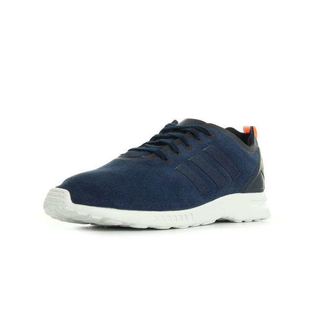 34d24e7ae81f0 Adidas originals - Adidas Zx Flux Smooth W Bleu marine, Blanc - 36 2 ...
