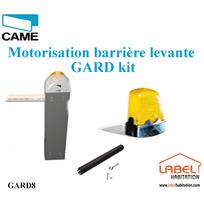 CAME - Barrière levante Kit GARD 8.00 Kit Complet