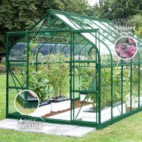 Habitat et Jardin - Serre verre Supreme 108 - 8.2 m² - 3.20 x 2.55 x ...