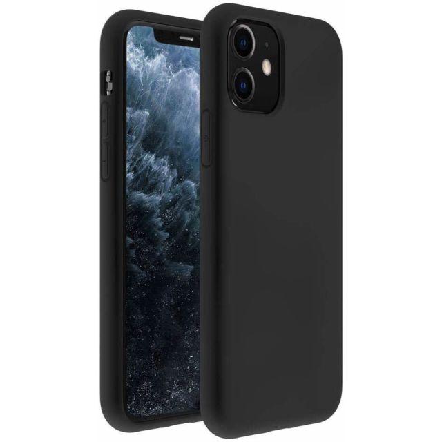 Coque iPhone 11 Silicone Noir