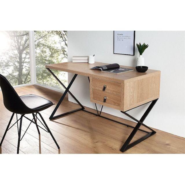 CHLOE DESIGN Bureau design DELMA - Bois