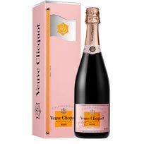 Champagne Veuve Clicquot - Rose Bouteille avec coffret Clicquot Flag