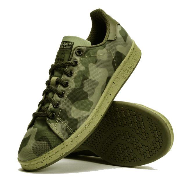 Adidas Originals STAN Smith Camouflage B34385 pas cher