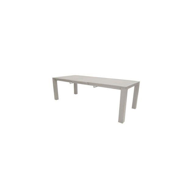 De 240 Cm Table Extensible Proloisirs En 180 Jardin Aluminium WHIED92Y