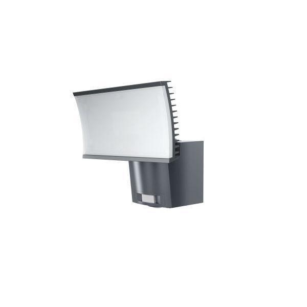 osram noxlite floodlight projecteur d 39 ext rieur led chaud avec d tecteur gris 23w l21cm. Black Bedroom Furniture Sets. Home Design Ideas