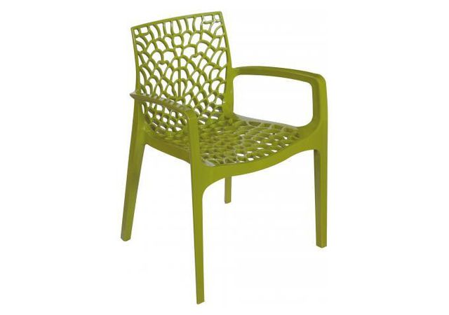 Accoudoirs Opaque Gruyer Vert Design Avec Anis Chaise 7gvfy6Yb