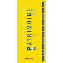 Arnaud Franel - Vademecum ; Patrimoine édition 2017