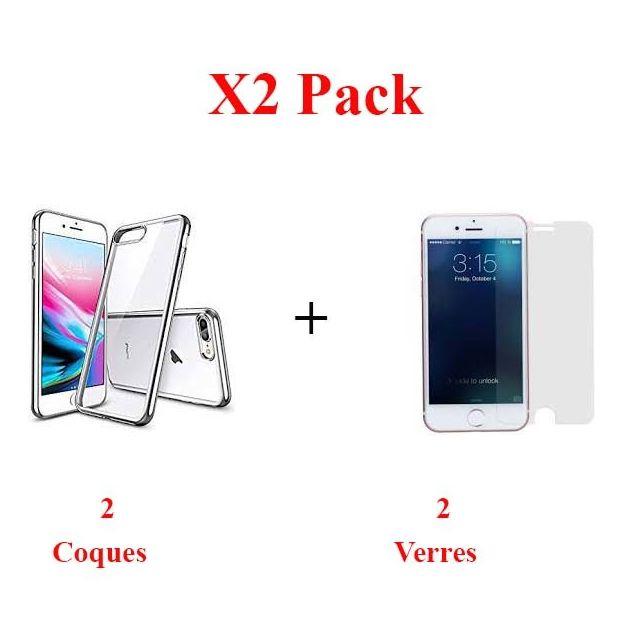 coque iphone 8 film protecteur