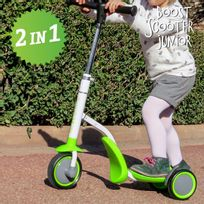 No Name - Trottinette-Tricycle Boost Scooter Junior 2 en 1 3 roues