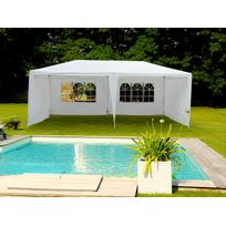 Habitat et Jardin - Tente de réception Carolina en polyéthylène - 3 x 6 x 2.5 m
